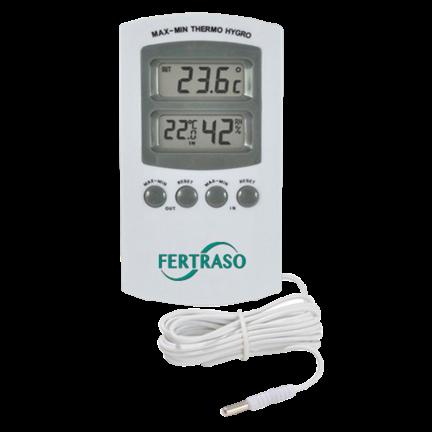 Hortímetros para temperatura y humedad