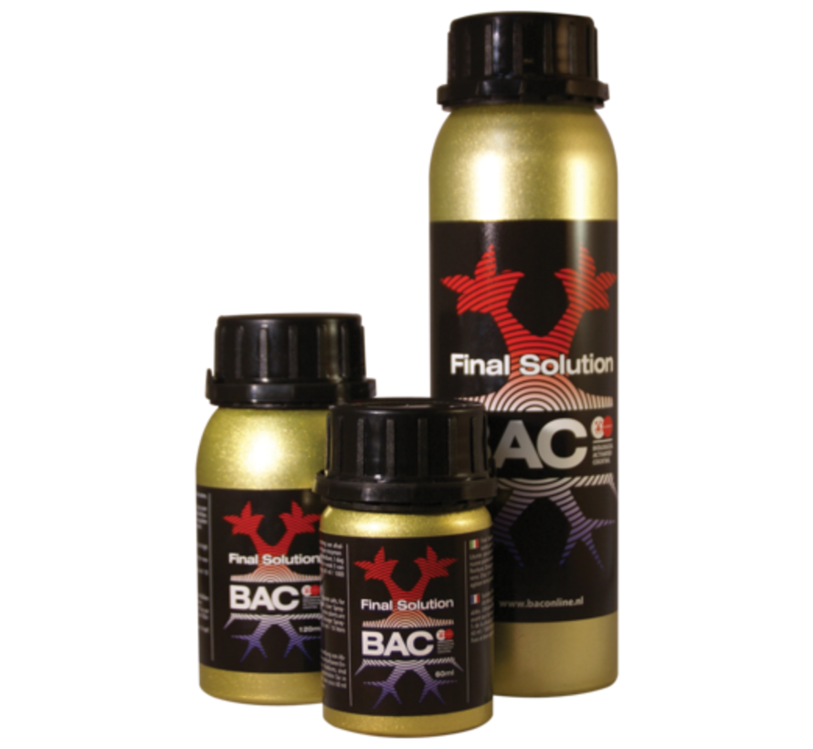 BAC Final Solution Estimulador de Plantas 60 ml