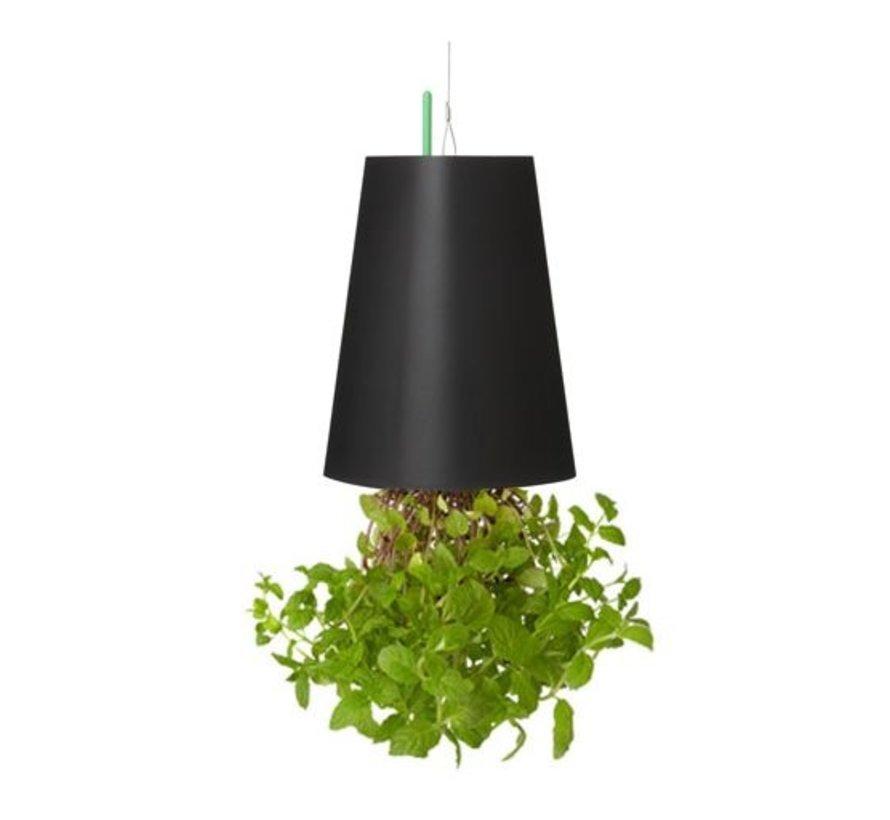 Boskke Sky Planter Recycled Bloempot Zwart Medium