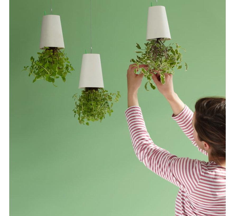Boskke Sky Planter Recycled Bloempot Wit Medium