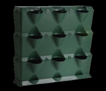 Minigarden Vertical 3 Módulos Verdes Kit de Inicio