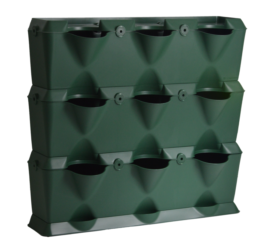 Minigarden Vertical Groen 3 Module Starterset