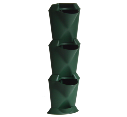 Minigarden Vertical Corner Hoekmodule Groen