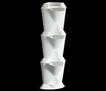 Minigarden Vertical Corner Corner Module White