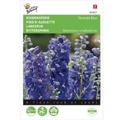 Buzzy Seeds Delphinium cultorum Larkspur Dasante Blue