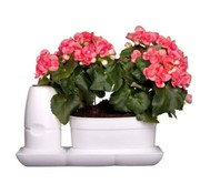 Minigarden Basic S Uno Flower Pot White