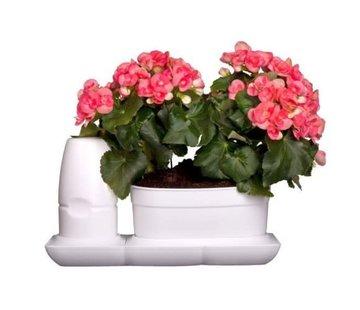 Minigarden Basic S Uno Flower Pot White
