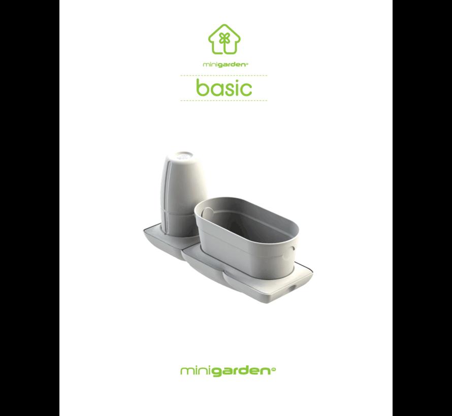 Minigarden Basic S Uno Bloempot Wit