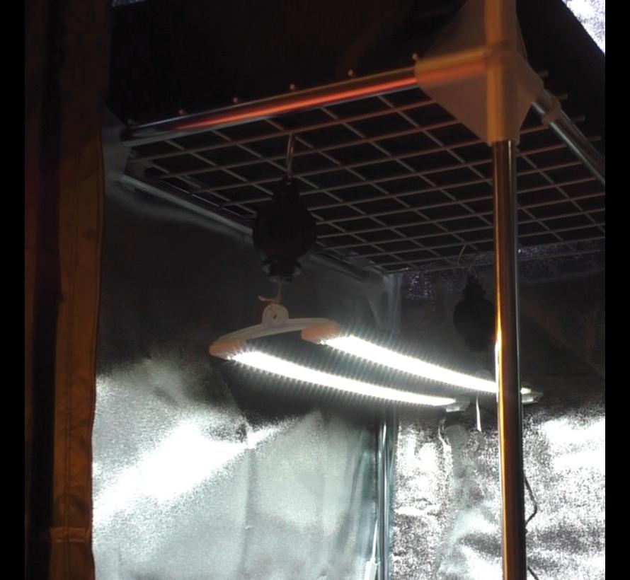 Cosmorrow LED Kweeklamp 2 x 20 Watt