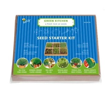 Buzzy Complete Mini Greenhouse Herbs