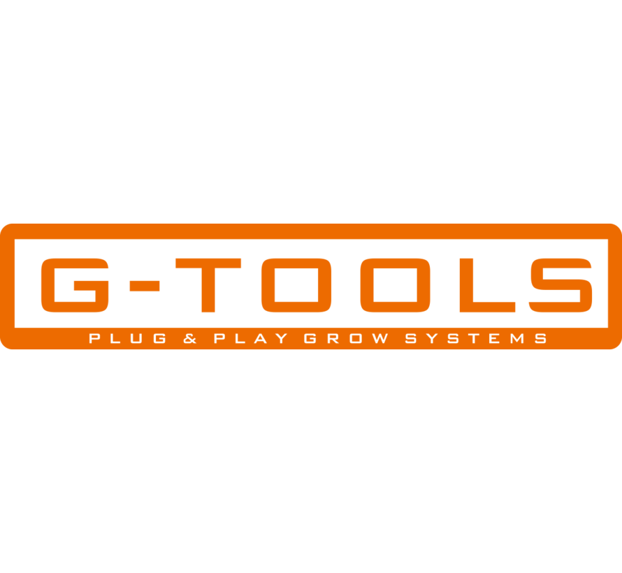 G-Tools Wing 1200 2 m2 Kweekkast XL Verhogingsset