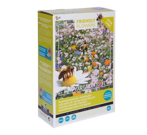 Buzzy Grow Gifts Friendly Flowers XL Bloemenmix voor Bijen 50m²