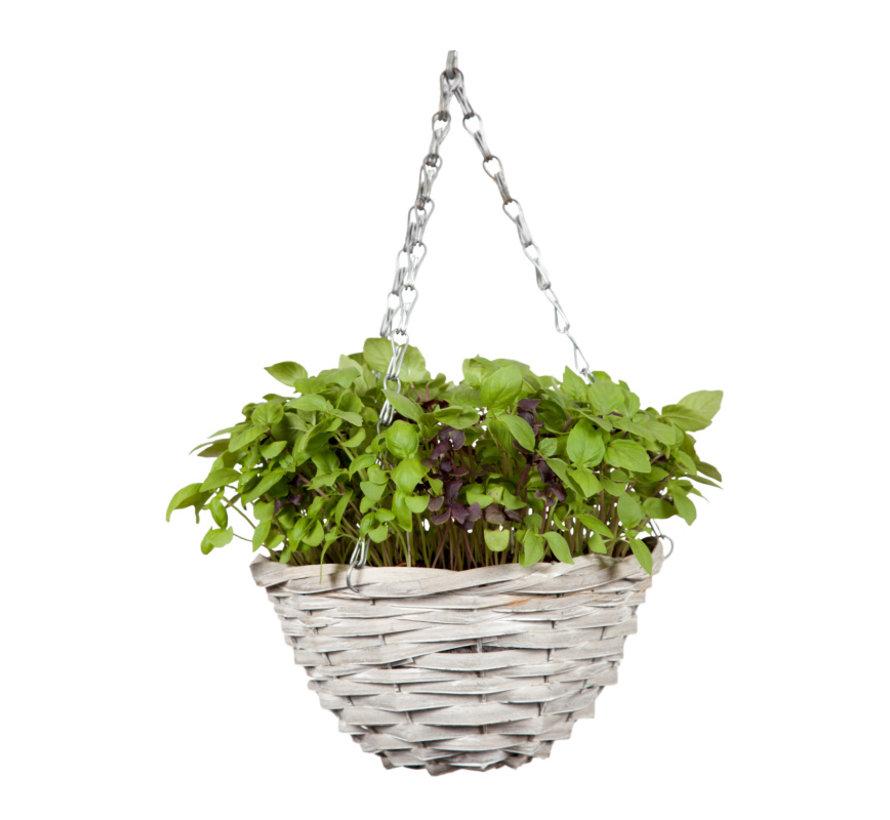 Buzzy Grow Gifts Happy Garden Hangmand Basilicum Mix
