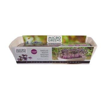 Buzzy Grow Gifts Microgreens Minituintje Schaal Sango Radijs