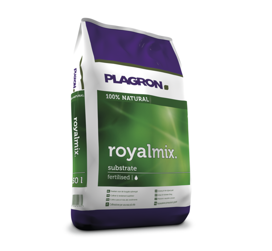 Plagron Royalmix Substrat Perlit 50 Liter