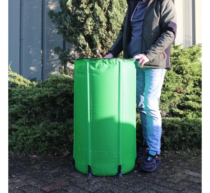 AquaKing Wasserfass 160 Liter 50x50x90 cm Faltbar