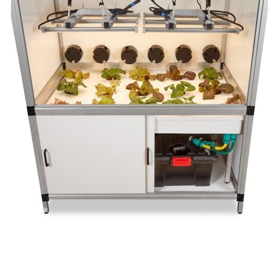 G Tools Flow Hydroponics Grow System 110x72x51 cm