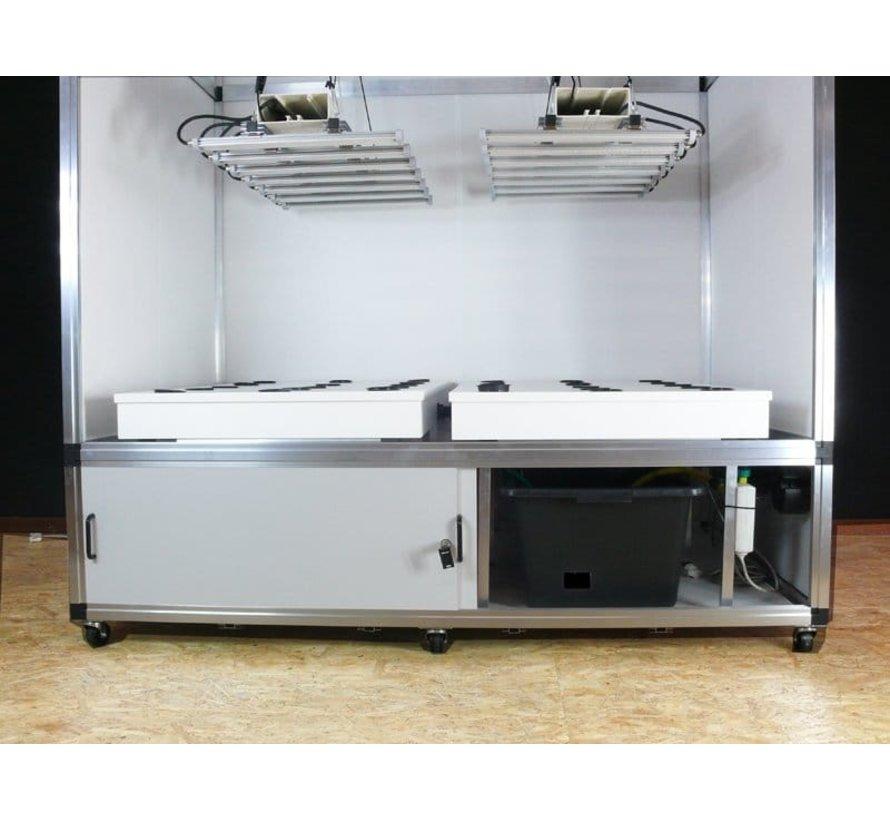 G-Tools Flow Hydroponics kweeksysteem 220x144x51 cm