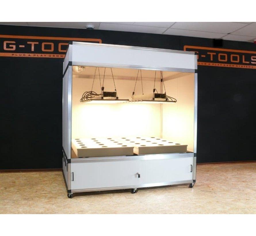 G-Tools Flow Hydroponics Bewässerungssystem 220x144x51 cm