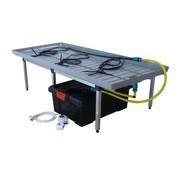 G Tools Sistema de Riego Automático 170x80x42 cm