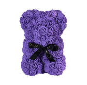 Rosuz Rose Bear Small Purple