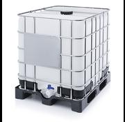 Contenedor de Agua 1000 Litros 100x100x120 cm