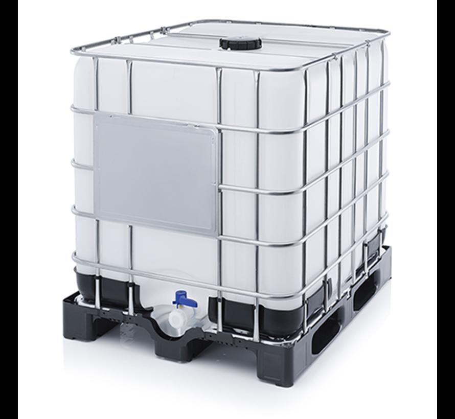 Waterreservoir 1000 Liter 100x100x120 cm