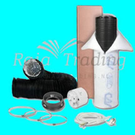 S-vent budget ventilatie kit