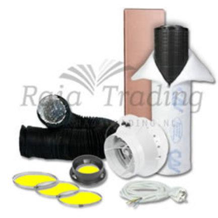 S-vent BKU ventilatie kit met thermostaat