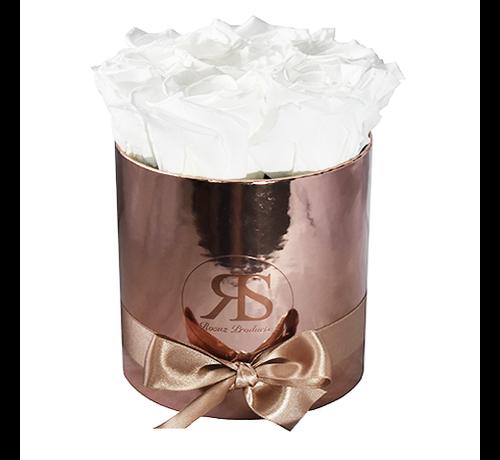Rosuz Flowerbox Longlife Zara Weiß