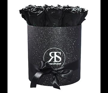 Rosuz Flowerbox Longlife Gigi Black Glitter