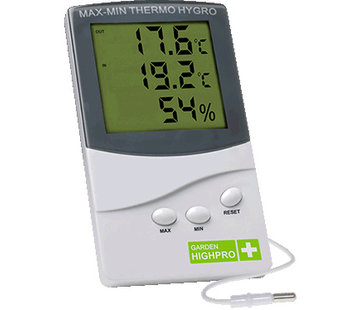 Garden Highpro Prohygro Hygrothermo Meter Medium
