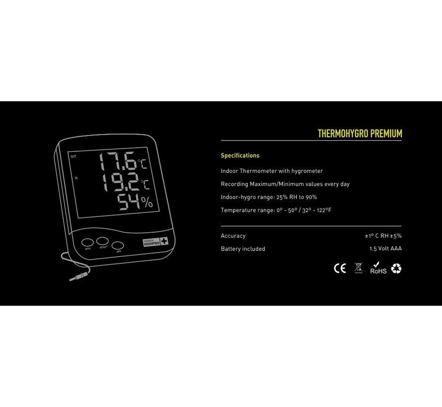 Garden Highpro Prohygro Hygrothermo Meter Premium