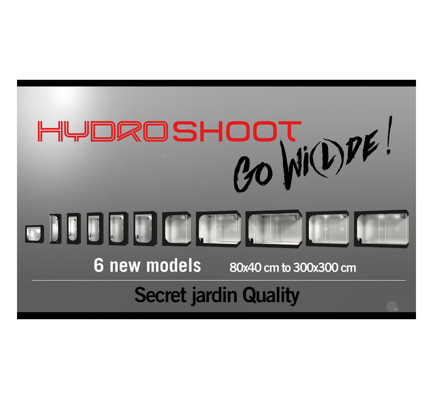 Secret Jardin Hydro Shoot HS240 Kweektent 240x240x200 cm R2.0