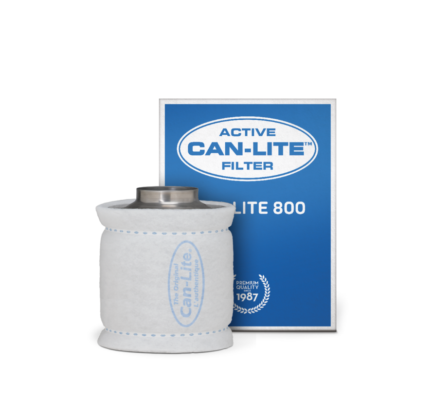 Can Filters Lite 800 Staal Koolstoffilter 800 m³/h