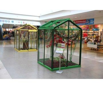 ACD Piccolo P02 Prestige Urban Greenhouse RAL Color Frame
