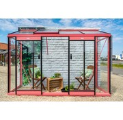 ACD Miccolo M04 Prestige Urban Wall Greenhouse RAL Color Frame