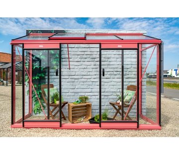 ACD Miccolo M04 Prestige Urban Wall Greenhouse RAL Color Frame