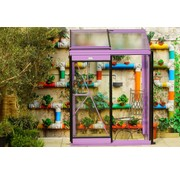 ACD Miccolo M02 Prestige Urban Wall Greenhouse RAL Color Frame