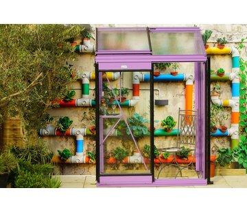ACD Miccolo M02 Prestige Urban Wall Greenhouse RAL Color Frame