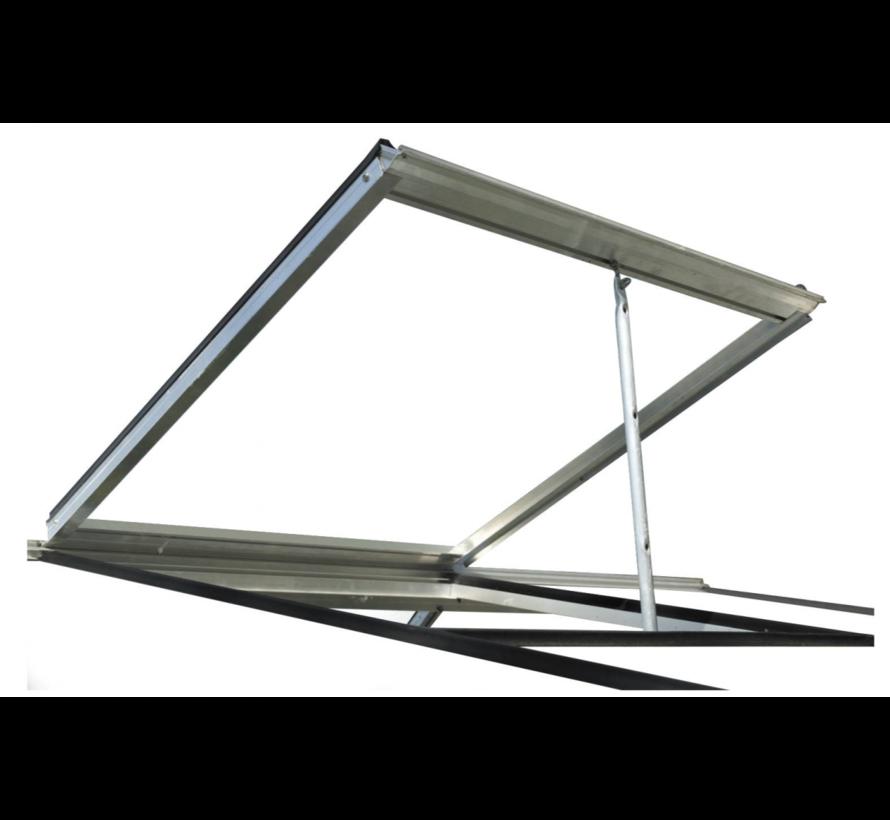 ACD Miccolo M02 Prestige Urban Wandgewächshaus Aluminium Rahmen
