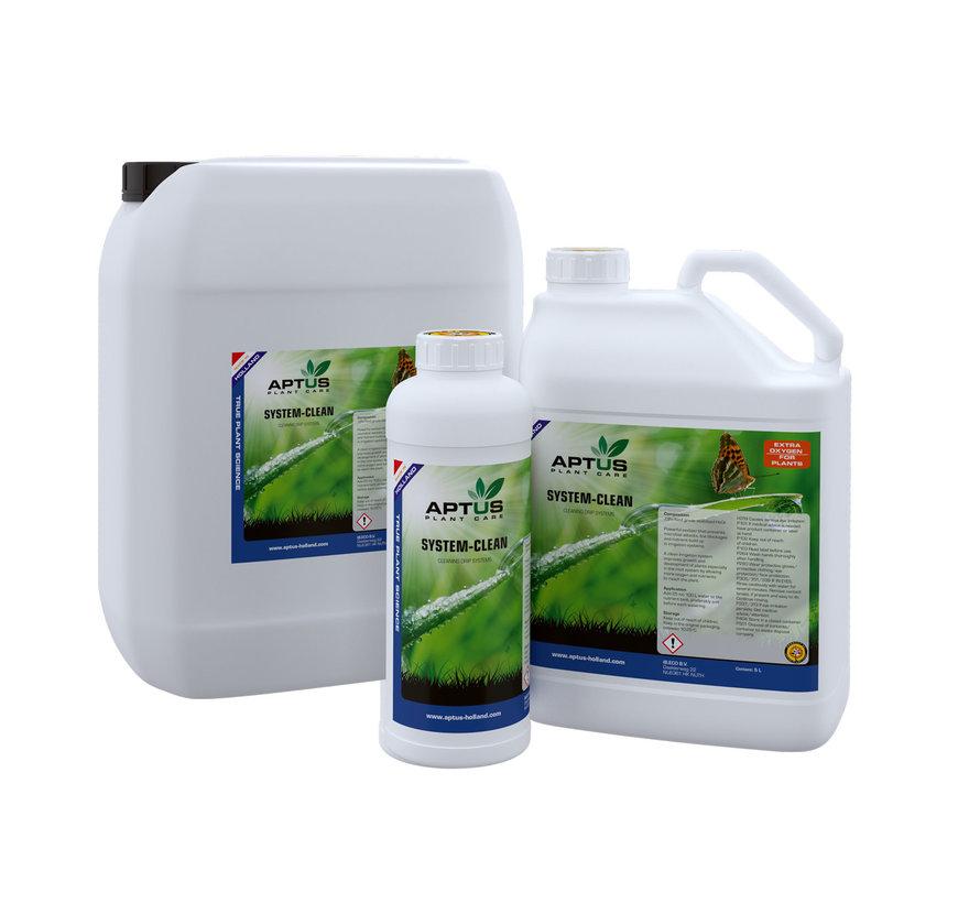 Aptus System Clean Druppelsyteem Reiniger 1 Liter