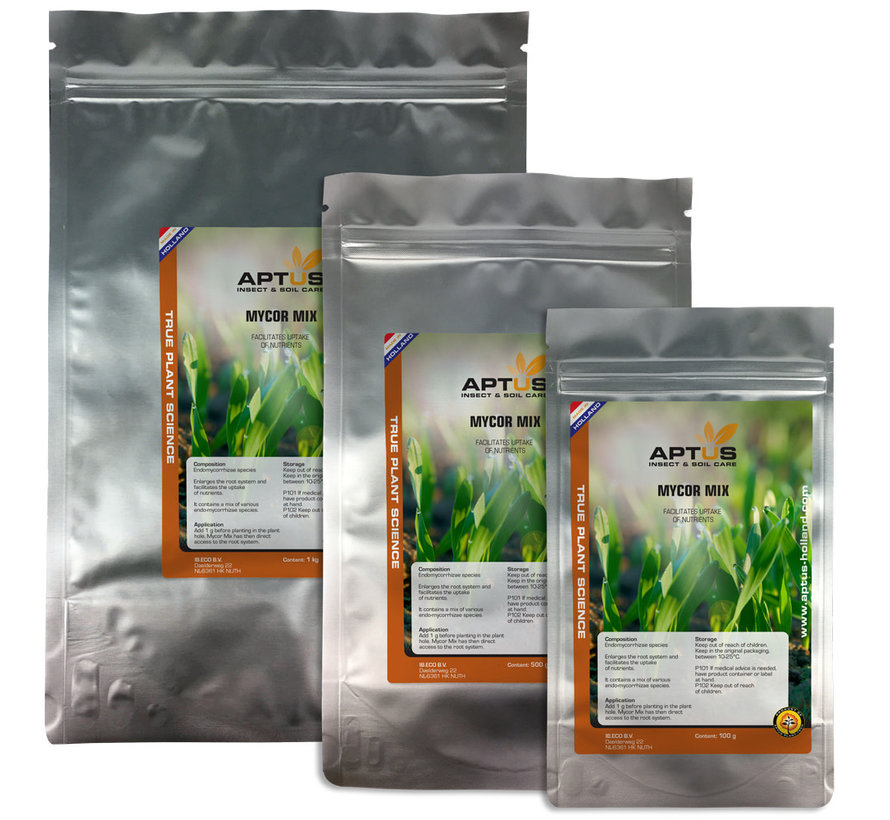 Aptus Mycor Mix Mycorrhiza Schimmels 500 Gram