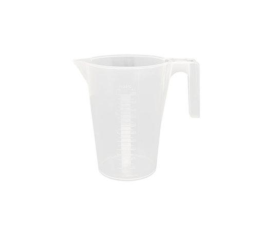 Maatbeker 1 Liter Kunststof