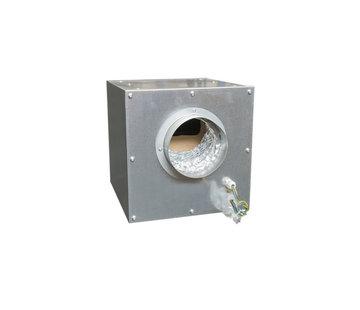 Airfan Softbox staal 750 m3/h Loshangend