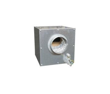 Airfan Softbox staal 550 m3/h Loshangend