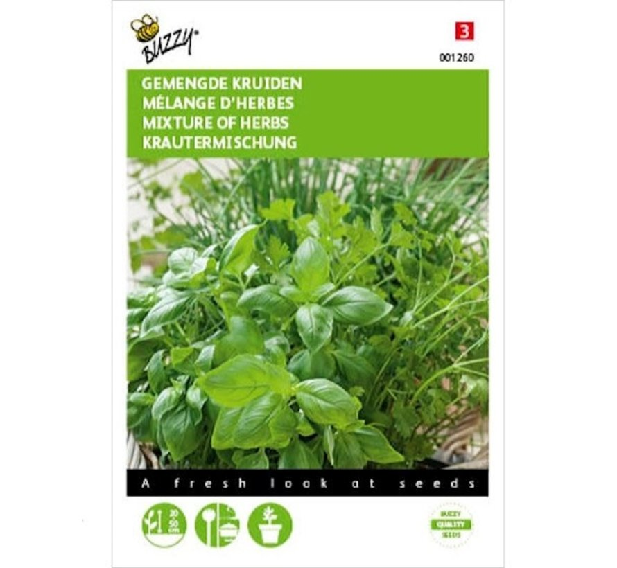 Buzzy Mixed Herbs Seeds