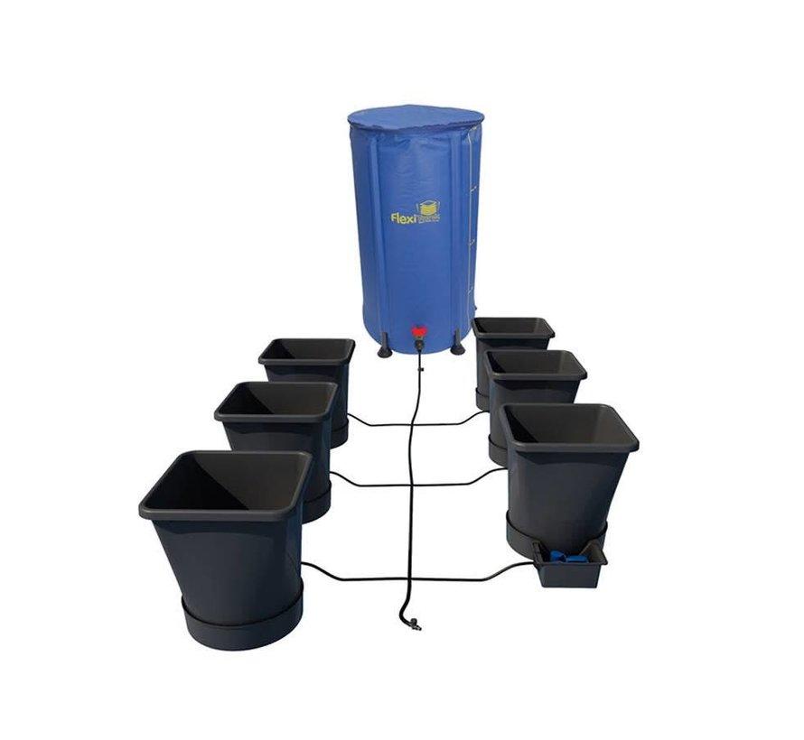 AutoPot 1Pot XL 6 Potten Water Systeem Starter Set incl. Tank