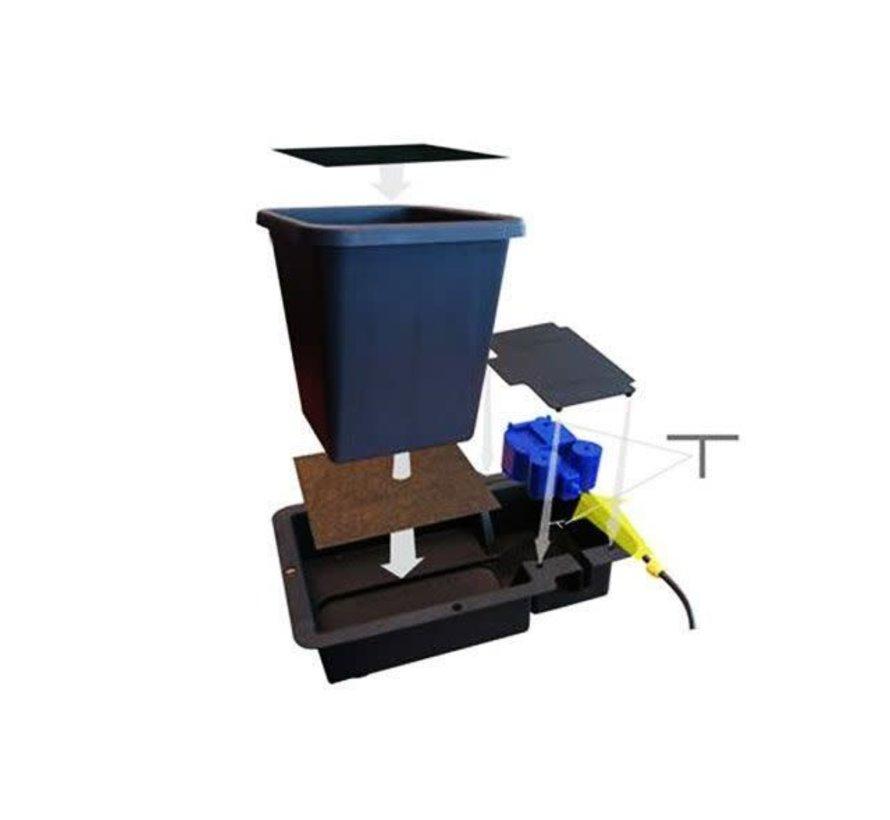 AutoPot 1Pot 4 Potten Water Systeem Starter Set incl. Tank