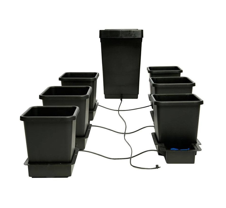 AutoPot 1Pot 6 Potten Water Systeem Starter Set incl. Tank